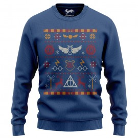 Gryffindor Holidays - Harry Potter Official Light Pullover