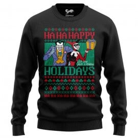 Ha Ha Happy Holidays - Joker Official Light Sweatshirt