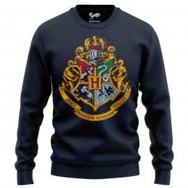 Hogwarts Emblem - Harry Potter Official Light Sweatshirt
