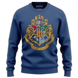 Hogwarts Emblem - Harry Potter Official Light Pullover