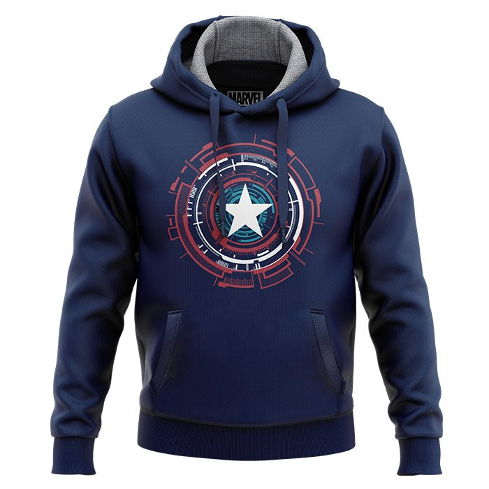 Captain America: Mechanical Shield - Marvel Official Hoodie