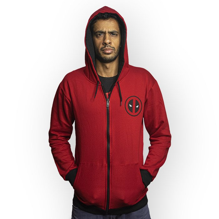 Deadpool: Logo - Marvel Official Hoodie