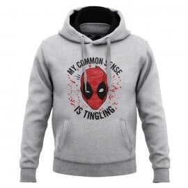 My Common Sense Is Tingling - Marvel Official Hoodie