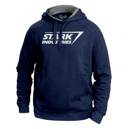 Stark Industries Logo - Marvel Official Hoodie