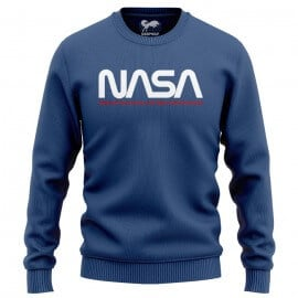 NASA: Worm Logo - NASA Official Light Pullover