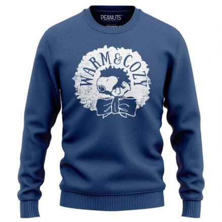 Warm And Cozy - Peanuts Official Light Pullover