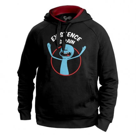 Mr. Meeseeks: Existence Is Pain - Rick And Morty Official Hoodie