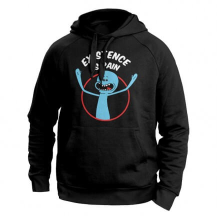 f3c741866 Mr. Meeseeks: Existence Is Pain - Rick And Morty Official Sweatshirt