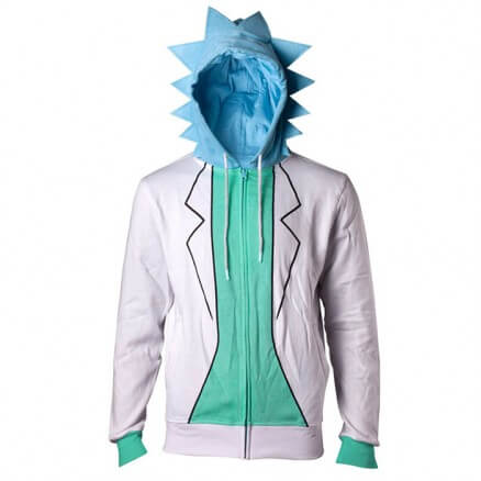 Rick Suit - Rick And Morty Official Hoodie