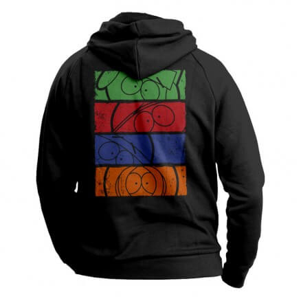 Minimalist Faces - South Park Official Hoodie