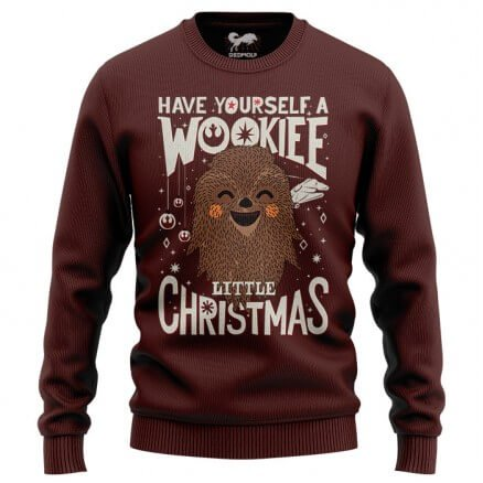 Wookie Little Christmas - Star Wars Official Sweatshirt