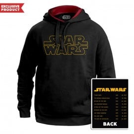 Star Wars: Logo - Star Wars Official Hoodie