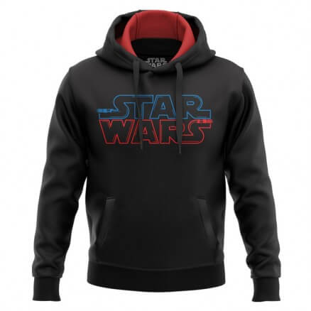 Star Wars: Saber Logo - Star Wars Official Hoodie
