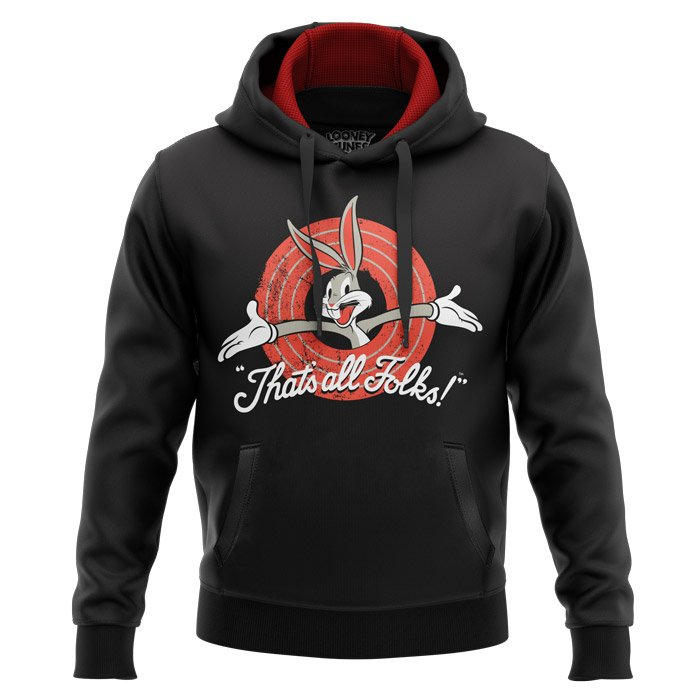 That's All Folks - Looney Tunes Official Hoodie