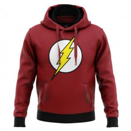 The Flash: Classic Logo - The Flash Official Hoodie