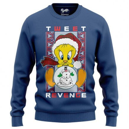 Tweet Revenge - Looney Tunes Official Light Pullover