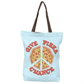 Give Pizza Chance - Tote Bag