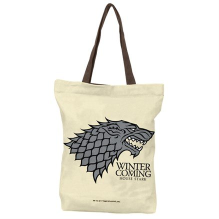 House Stark Sigil - Official Game Of Thrones Official Tote Bag