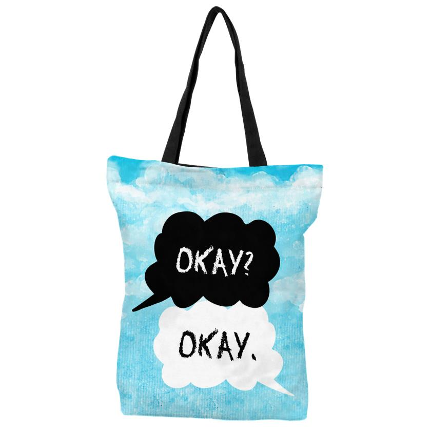 The Fault In Our Stars - Okay Okay - Tote Bag