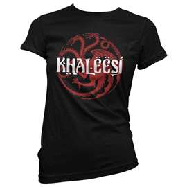 Khaleesi - Game Of Thrones Official T-shirt