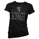 Trial By Combat Women's - Game Of Thrones Official T-shirt