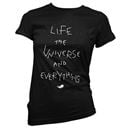 Life, the Universe and Everything - Women's T-shirt