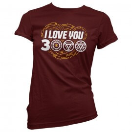 I Love You 3000 - Marvel Official Women's T-shirt