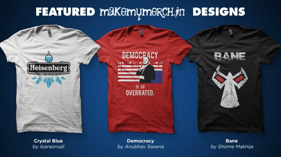 Featured MakeMyMerch