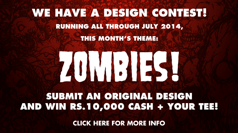 Redwolf Zombie Design Contest