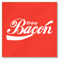 Enjoy Bacon - Fridge Magnet