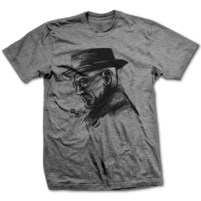 Walter White Sketch - Official Breaking Bad Tee