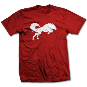 Redwolf Logo Red Tee