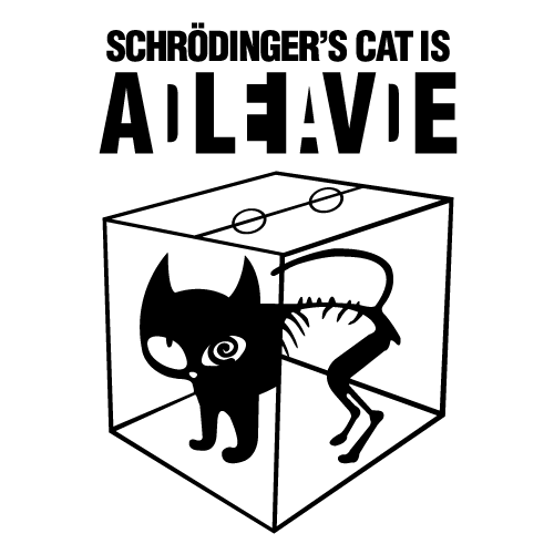Schrodinger S Cat T Shirt What If Schrodingers Cat Was Neither Dead