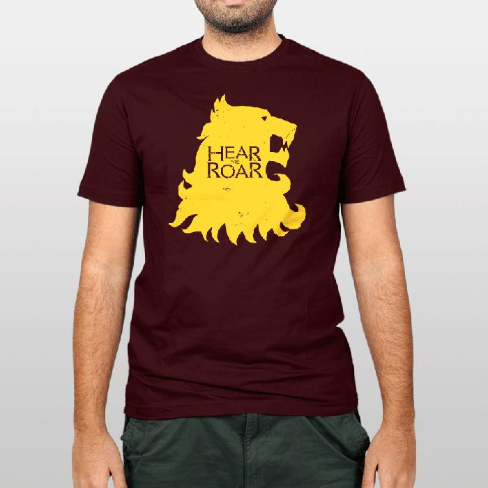 LANNISTER HEAR ME ROAR MENS T SHIRT TEE GAME OF FUNNY CERSEI THRONES KING QUEEN