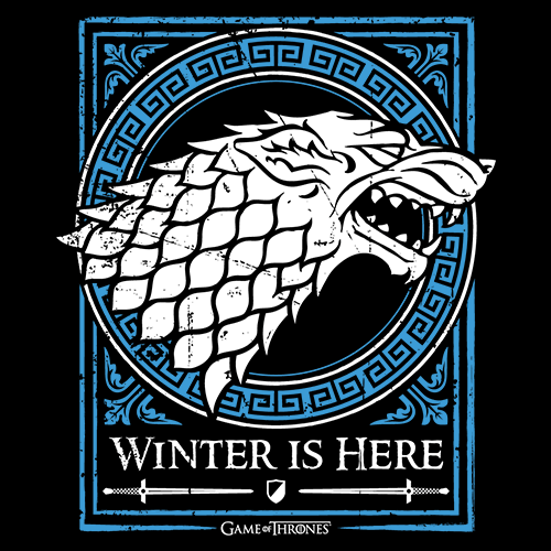 100/% Official Stark Logo Last Few SALE! Game Of Thrones T Shirt