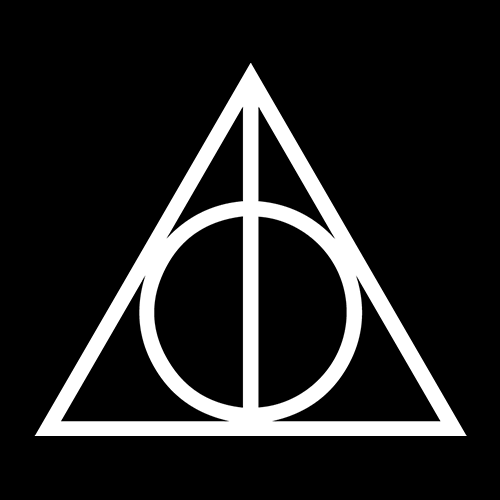 The Deathly Hallows T-shirt | Redwolf
