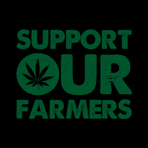Support Our Farmers Legalize It T Shirts Redwolf