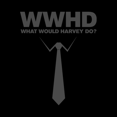 Suits What Would Harvey Do T Shirt  Specter Tee