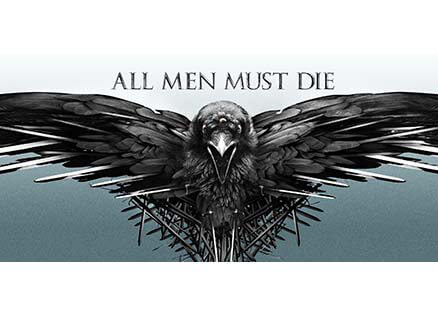 All Men Must Die Official Game Of Thrones Mug Redwolf