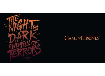 The Night Is Dark And Full Of Terrors Official Game Of