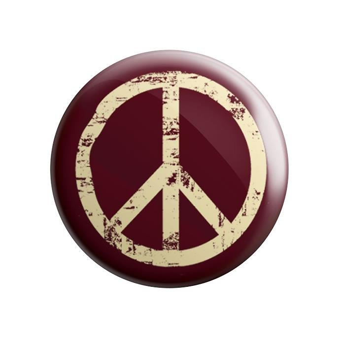 Peace Symbol Badges Redwolf