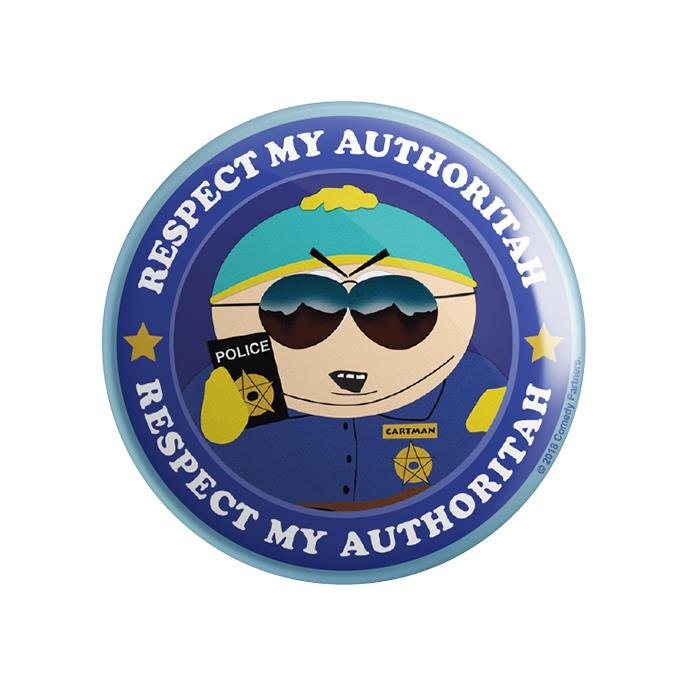 Redwolf – Respect My Authoritah – South Park Official Badge