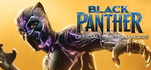 Black Panther Top Banner