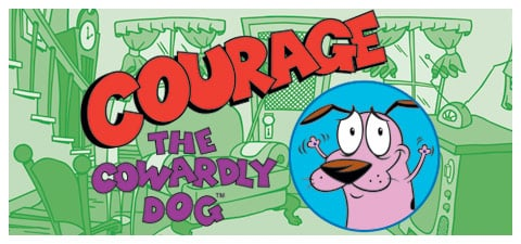 Courage The Cowardly Dog Merchandise