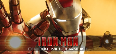 Iron Man top banner