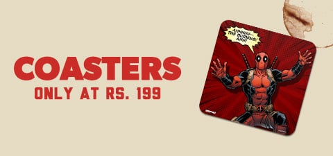 Category Banner - Coasters