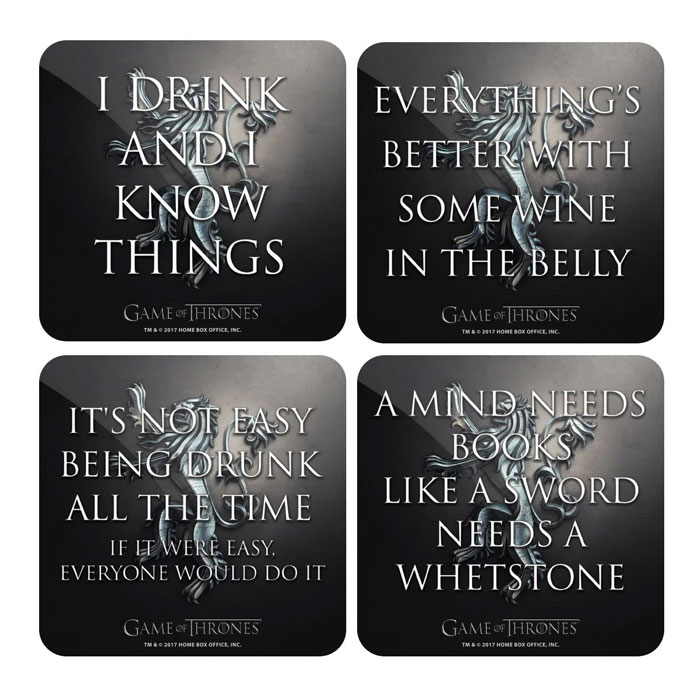 Game Of Thrones Friendship Quotes: Game Of Thrones Coaster