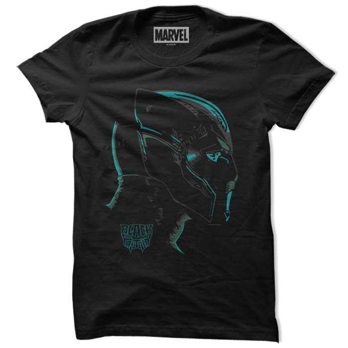 56e2cb6b14f0 Protector Of Wakanda - Official Black Panther T-shirt   Redwolf
