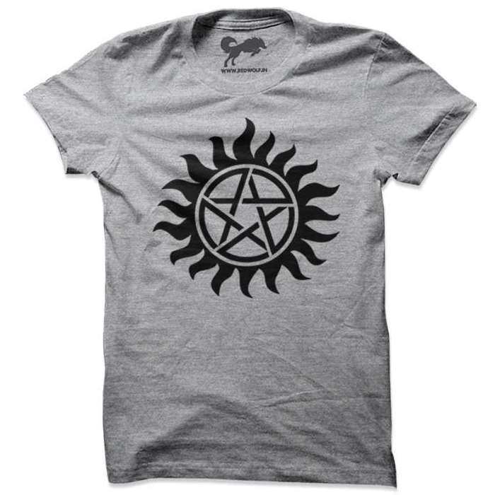 1ee00cee Supernatural: Anti-Possession Tattoo T-shirt | Redwolf