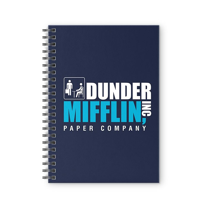 graphic relating to Dunder Mifflin Name Tag Printable titled Dunder Mifflin Laptop computer Redwolf